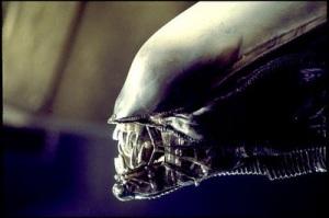 Normal alien jaw