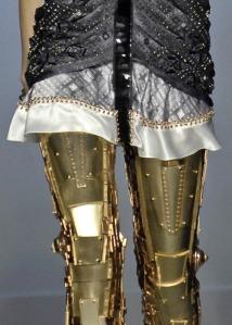 Golden terminator legs