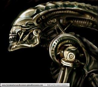 Terminator-alien