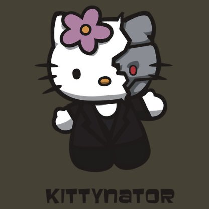 Hello Kitty terminator