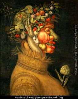 Summer (2) by Arcimboldo