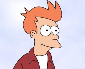 Fry, the stupid human