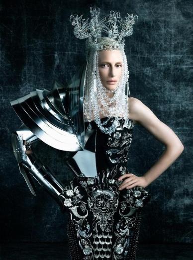 Cate Blanchett as a terminator