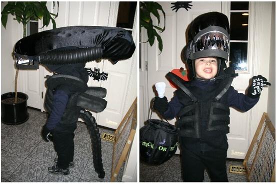 Alien kid's costume