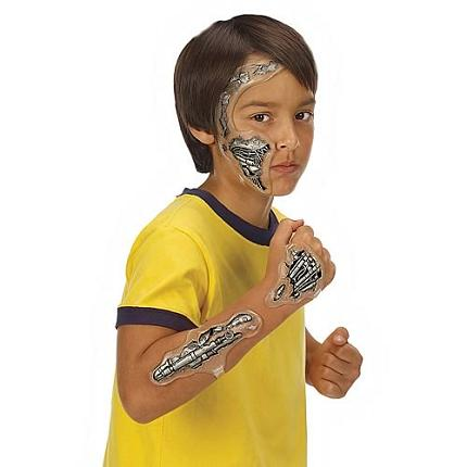 Exoskeleton tattoos