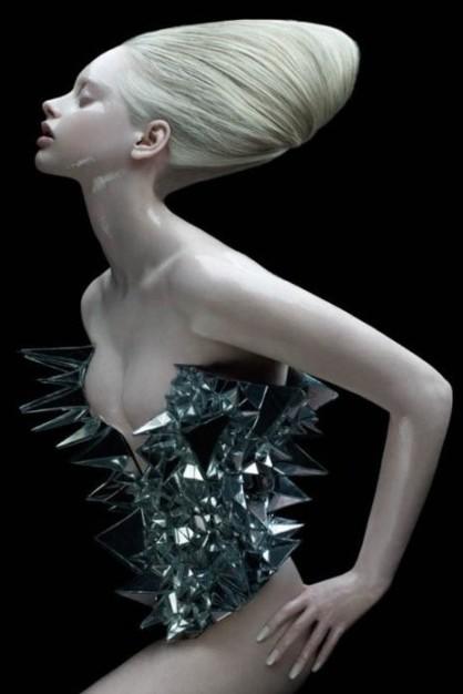 Alien-human hair