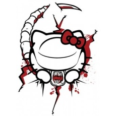 Hello kitty chestburster