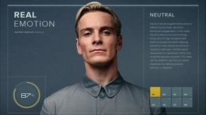 David the android in Prometheus