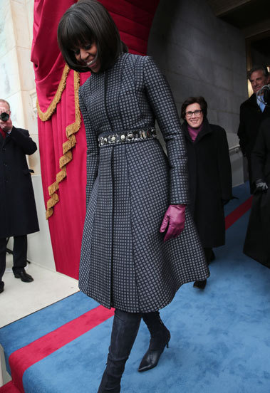 Michelle Obama inaugural daytime outfit