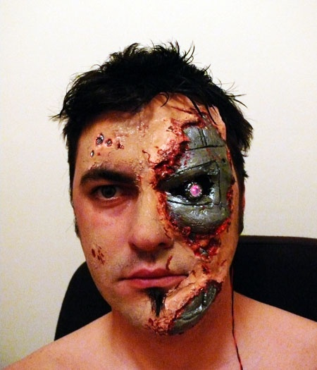 Easy Scary Face Paint Ideas