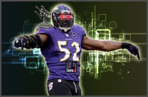 Ray Lewis is a terminator