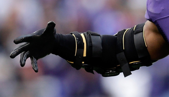 Ray Lewis' new terminator arm