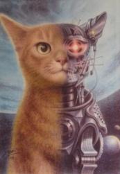 Cute cat terminator