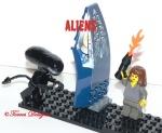 Lego Xeno vsRipley