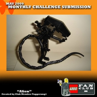 Lego xenomorph 1